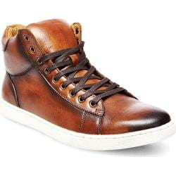 Men's Steve Madden Revolv High Top Tan Leather