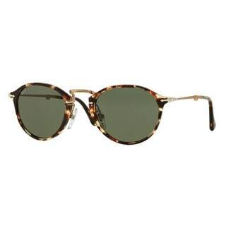 Persol PO3075/S-985/31 Round Green Sunglasses