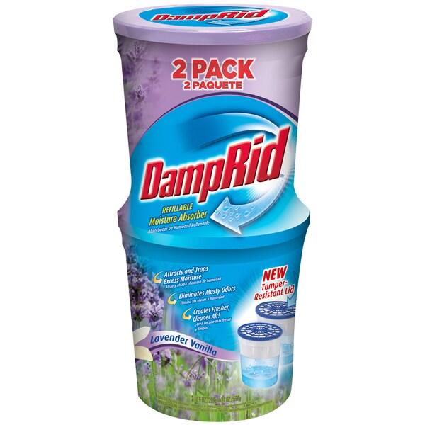 Damp Rid FG60LV Lavender Vanilla Moisture Absorber 2 Count