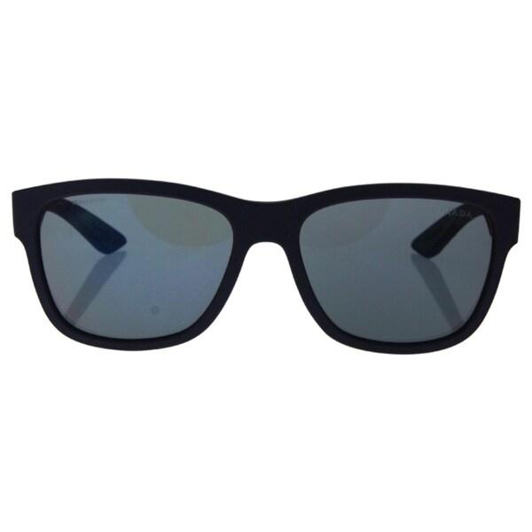 Prada Sport PS03QS-UBX9Q1 Sport Dark Grey Mirror Blue/Red Sunglasses 20246016