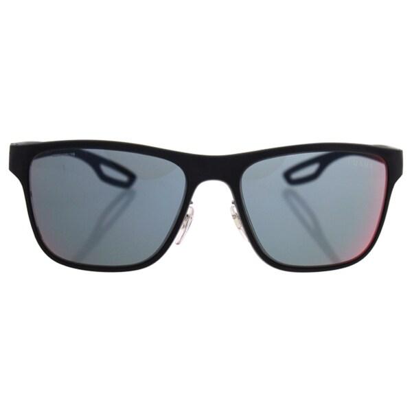 Prada Sport PS56QS-TFY9Q1 Sport Dark Grey Mirror Blue/Red Sunglasses 20246163