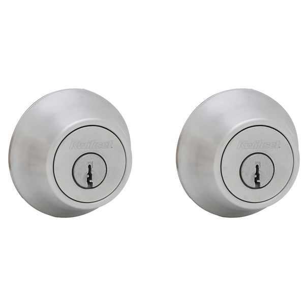 Kwikset 96650-389 Satin Chrome Double Cylinder Deadbolt