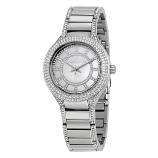 Michael Kors Women's MK3441 Kerry Silver Watch