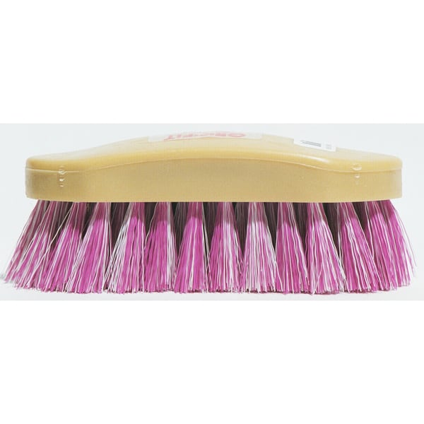 Decker 26 Raspberry & White Soft Finishing Brush