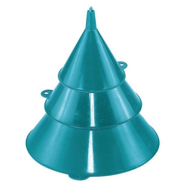 Custom Accessories 30004 3 Piece Plastic Funnel Set