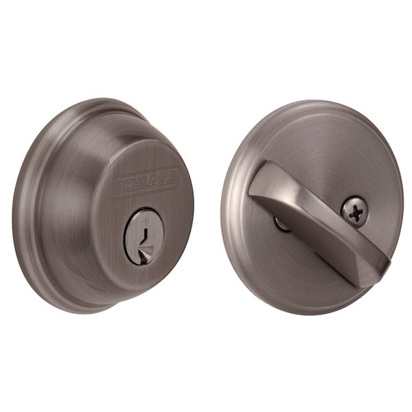 Schlage B60NV620 Maximum Security Single Cylinder Deadbolt