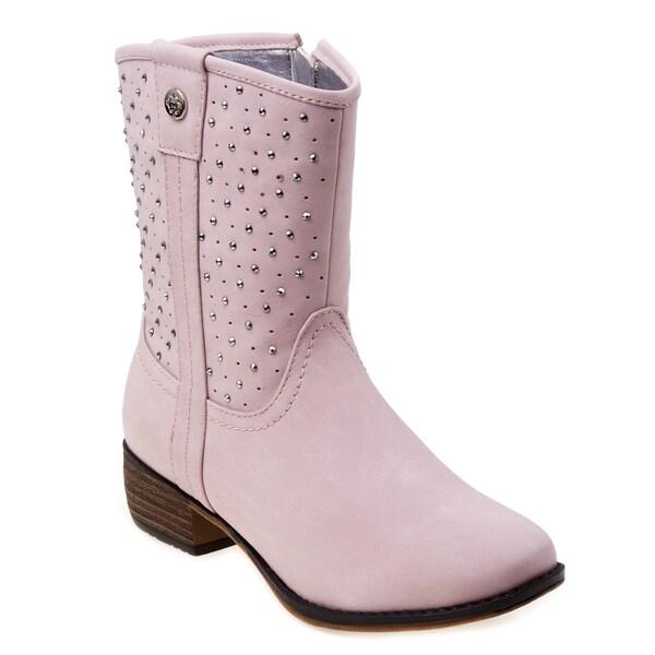 Nanette Lepore Girls' Studded Western Boots