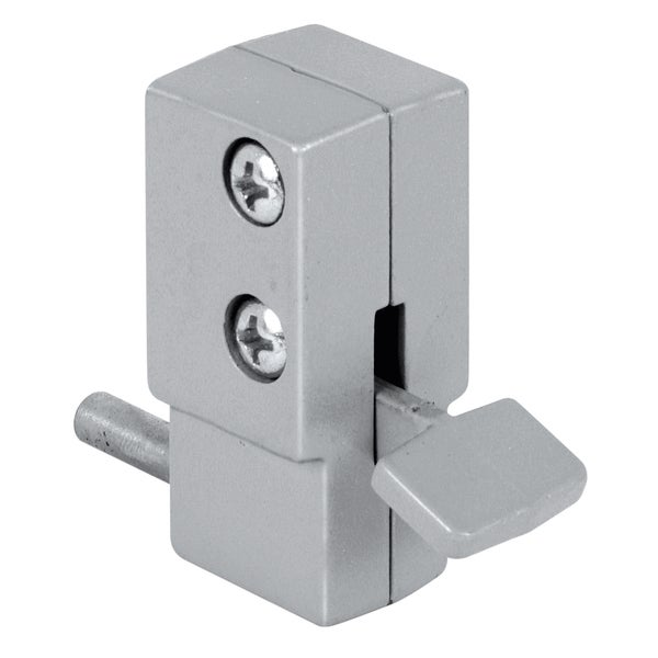 Prime Line U9877 Gray Patio Door Lock