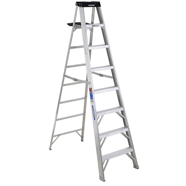 Werner 378 8' Aluminum Step Ladder