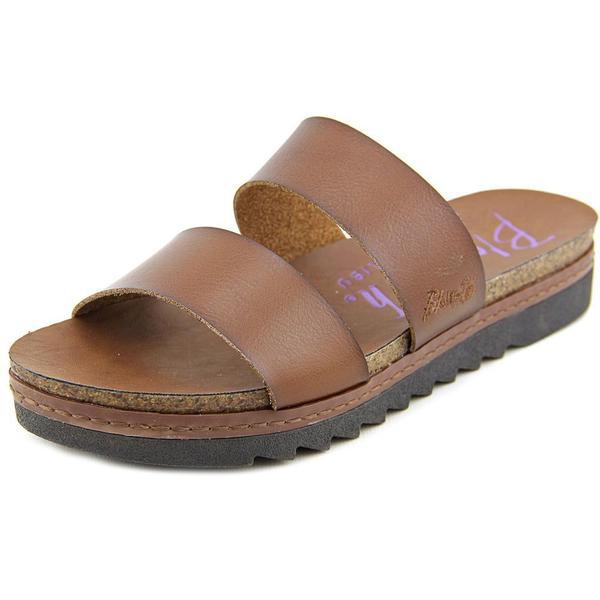 Blowfish Women's Supa Brown Polyurethane Sandals