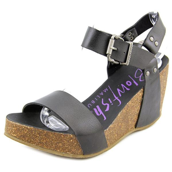 Blowfish Women's Hiki Black Polyurethane Sandals