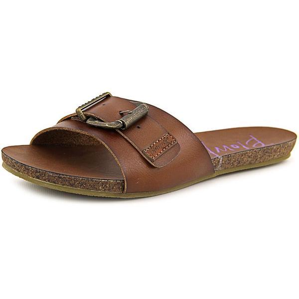 Blowfish Women's Graph Brown Faux-leather Sandals