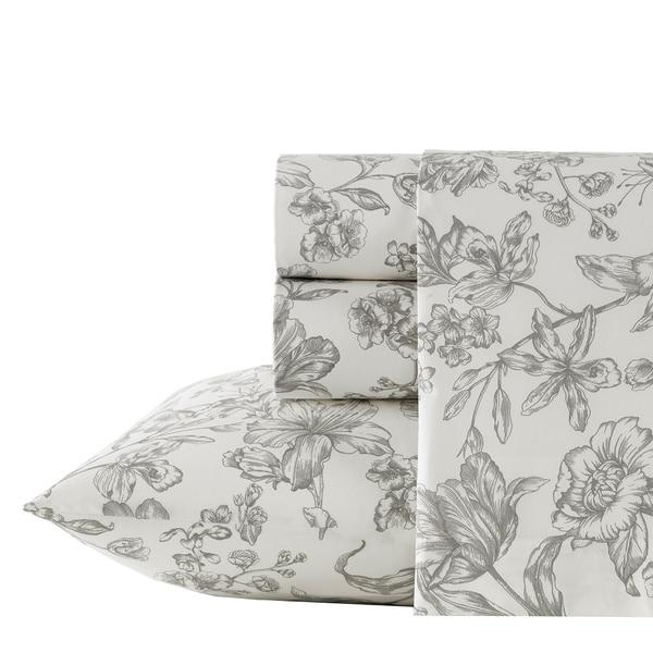 Wedgwood Vibrance Floral Cotton Sheet Set 20247489