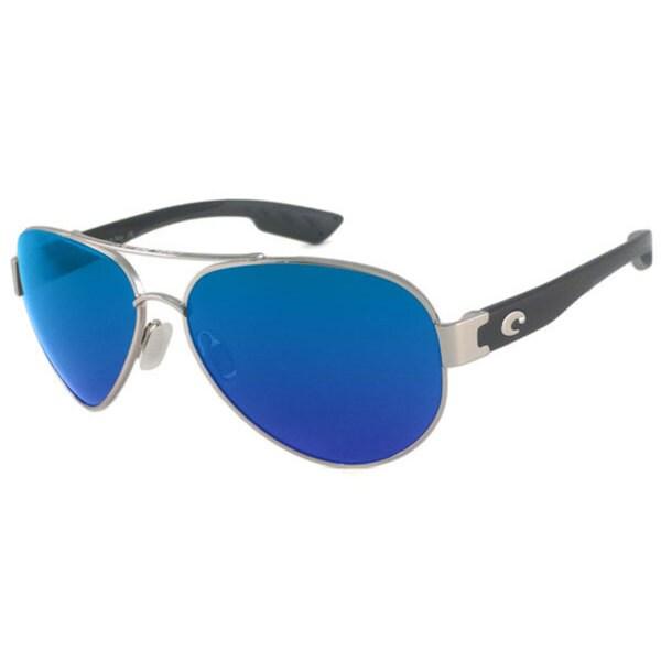 Costa Del Mar SO.21.OBMGLP Aviator Polarized Blue Mirror 580 Glass Sunglasses