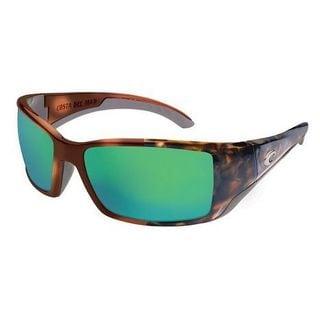 Costa Del Mar BL.10.GMG Oversized Polarized Green Mirror Wave 400 Glass Sunglasses
