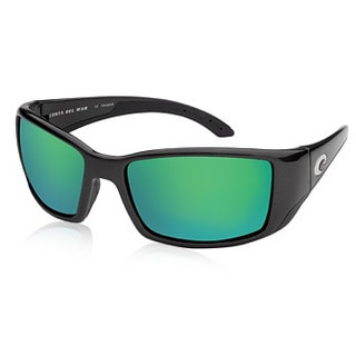 Costa Del Mar BL.11.GMG580 Oversized Polarized Green Mirror Wave 580 Glass Sunglasses