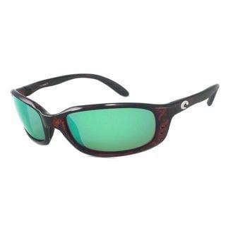 Costa Del Mar BR.10.GMG580 Sport Polarized Green Mirror Wave 580 Glass Sunglasses