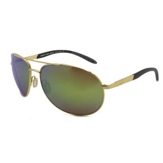 Costa Del Mar WM.26.OSCP Aviator Polarized Silver Mirror 580P Polycarbonate Sunglasses