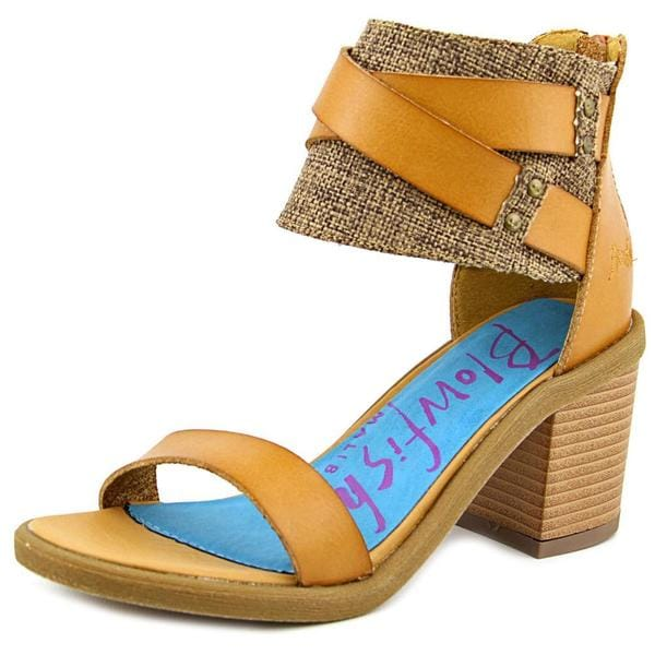 Blowfish Women's Melvin Tan Faux Leather Sandals