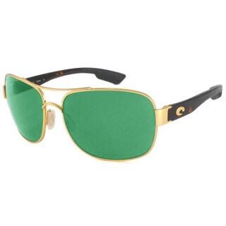 Costa Del Mar CC.26.OGMGLP Aviator Polarized Green Mirror 580 Glass Sunglasses