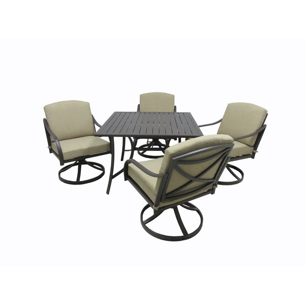 Lido Outdoor Square 5-piece Dining Collection