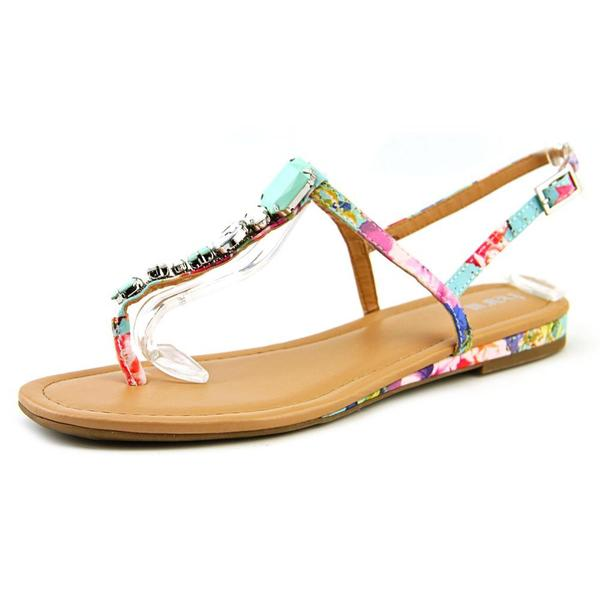 Bar III Women's Blanchet 2 Multicolor Faux Leather Sandals