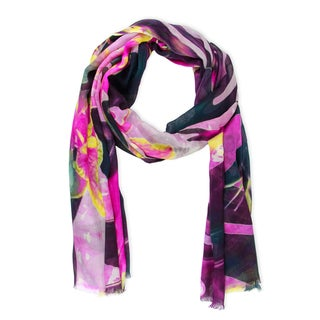 Saachi Women's Tropical Forest Scarf (India)