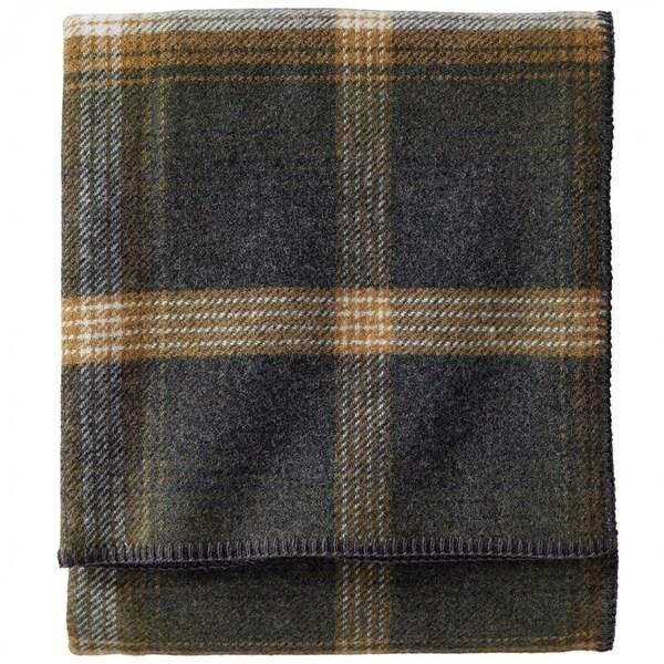 Pendleton Eco-wise Oxford Wool Plaid Blanket 20251937