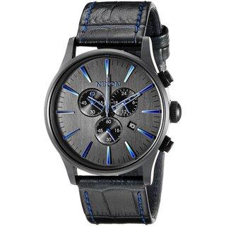 Nixon Men's A405-2153 Sentry Chrono Black Watch