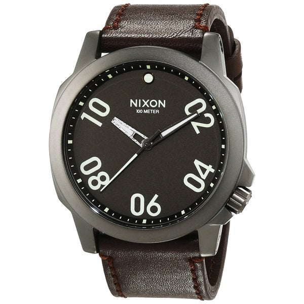 Nixon Men's A466-1099 Ranger 45 Grey Watch