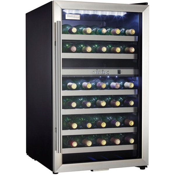 Danby 38 Bottle Stainless Steel Free-Standing Wine Cooler