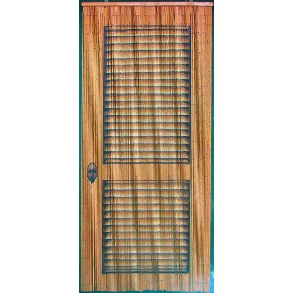 Louvre Door Bamboo Curtain (Vietnam)