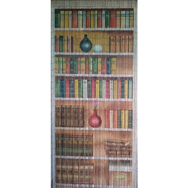 Book Case Bamboo Beaded Curtain (Vietnam)