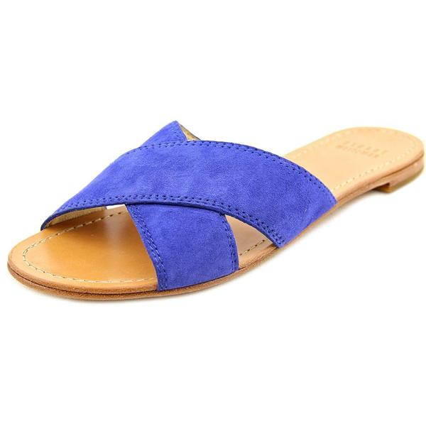 Stuart Weitzman Women's Byway Suede Regular Sandals