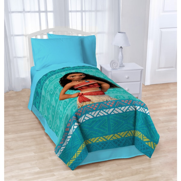 Disney Moana 'The Wave' Twin Blanket