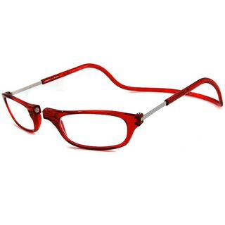 Clic Readers Red Reading Glasses