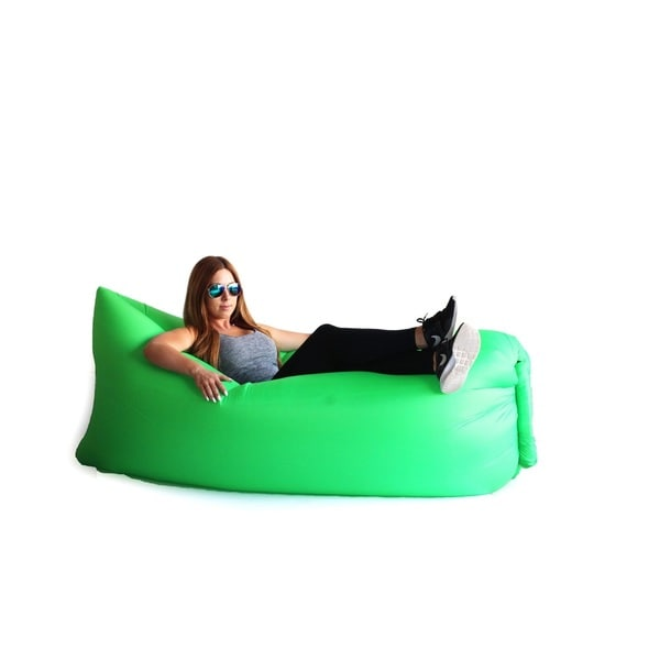 Zephyr Green Inflatable Air Bag Parachute Couch