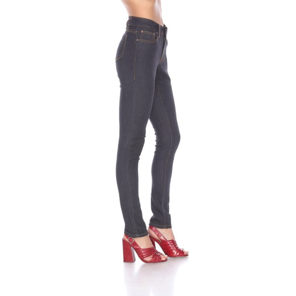 Stanzino Women's Black Denim Skinny Jeans
