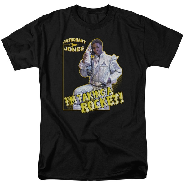 SNL/Astronaut Jones Short Sleeve Adult T-Shirt 18/1 in Navy