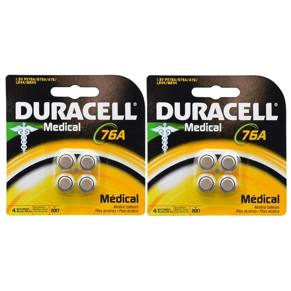 Duracell Duralock 1.5V Button Cell Battery (8 Count)
