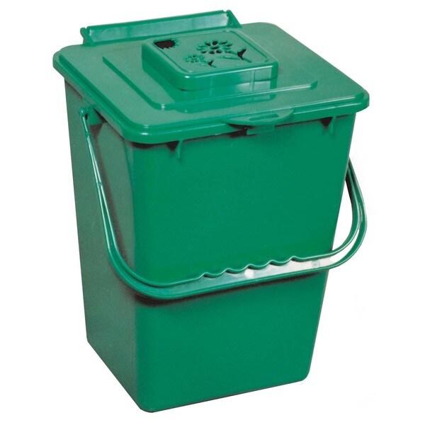 Exaco Trading Co ECO2000 2.4 Gallon Eco Kitchen Compost Collector With Carbon Filter