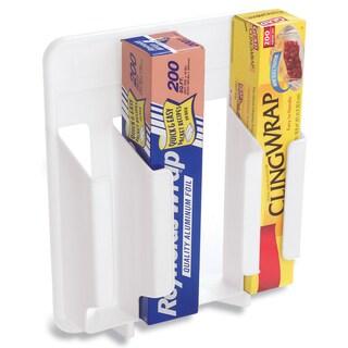Rubbermaid FG2310RDWHT White Wrap 'N Bag Organizer