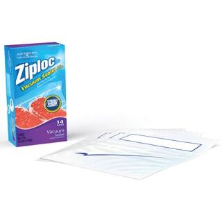 Simply Smart ZL14QB3 1 Quart Ziploc Vacuum Sealer Bag Refills 14-count