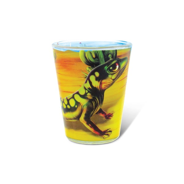 Puzzled Full Gecko Shot Glass 20260289