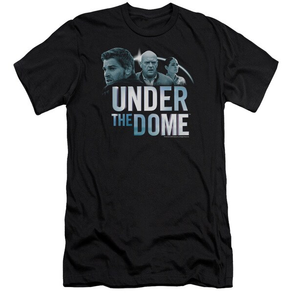 Under The Dome/Character Art Short Sleeve Adult T-Shirt 30/1 in Black