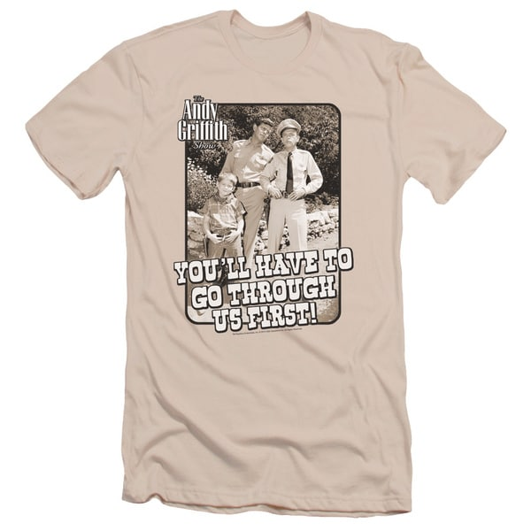 Andy Griffith/Through Us Short Sleeve Adult T-Shirt 30/1 in Cream
