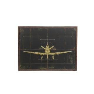 Privilege International Wood Plane Wall Deocr