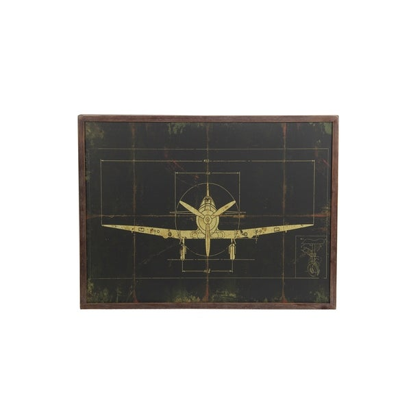 Privilege International Wood Plane Wall Deocr
