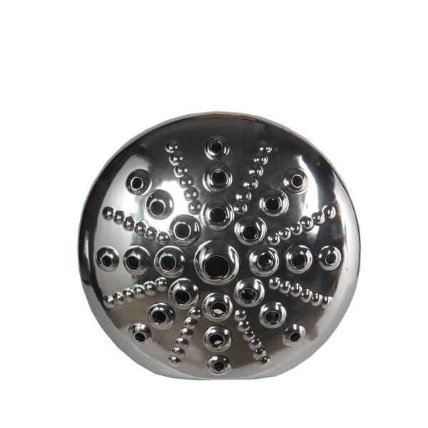 Privilege International Silver Ceramic Small Disc