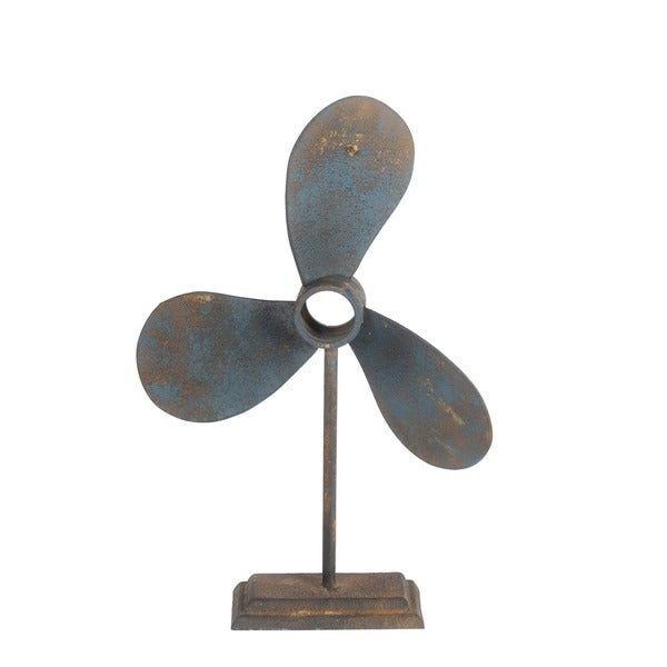 Privilege International Blue Propeller Decoration
